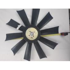 Крыльчатка вентилятора YUCHAI YC6108/YC6B125 (10 лопастей, пластик) 153110-205141