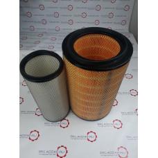 Фильтр воздушный Weichai WD10 KW2640 XCMG LONGGONG 612600110540 КОМПЛЕКТ K2640 A-5549+5550