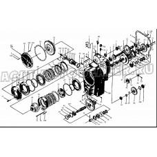 Корпус КПП 52C0013 BS305 LIUGONG CLG 835
