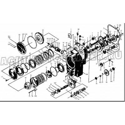 Корпус КПП 52C0013 BS305 LIUGONG CLG 835 купить