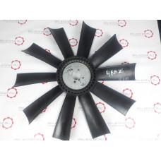 Крыльчатка вентилятора двигателя 4RMAZG диаметр крепления 42 мм 10 лопастей F490-10-42-64