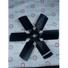 Крыльчатка вентилятор 398-1308010A D=600, d=40, 4 отв., 6 лопастей дв.Yuchai YC6108, YC6B125