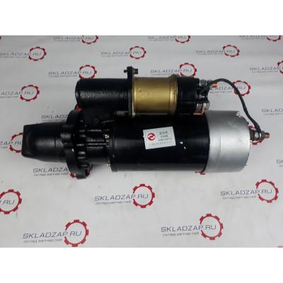 Стартер (бендикс закрытый 12 зубов) двигателя Shanghai С6121, SC11CB220G2B1 оригинал 3T4586, C11AB+3T4586+A, 3T4586M