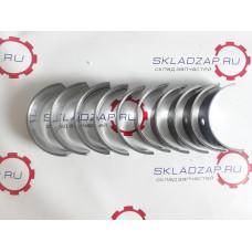 Вкладыши коренные (комплект) двигателей ZHAZG B495/K4100 495-01006, 495-01008, 495-01009