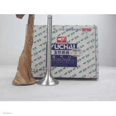 Клапан впускной Yuchai 330-1007011D  (330-1007000) Yuchai YC6108G/YC6B125   комплект 6 шт